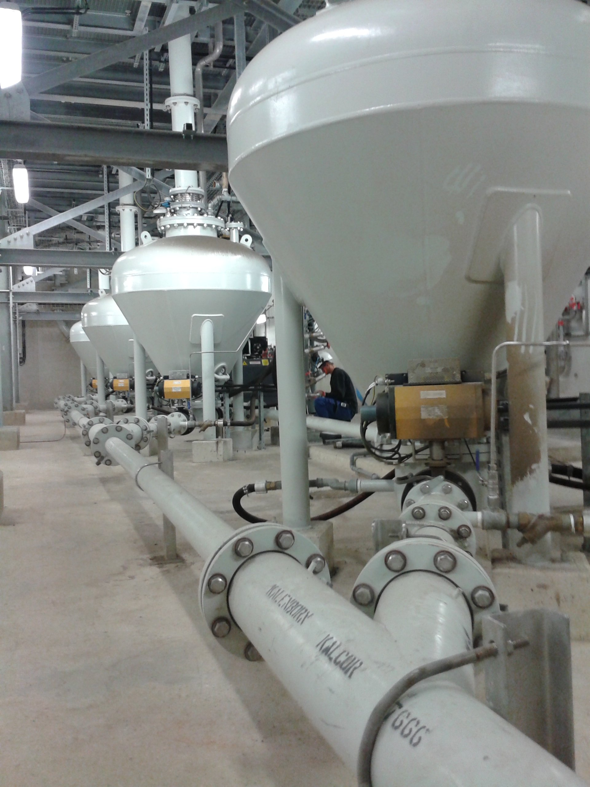 Pressure Conveying Vessel 6